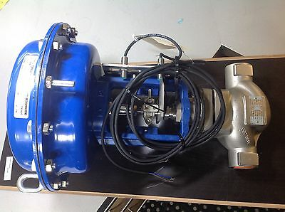 "SPIRAX SARCO PN9220E  actuator and GLOBE VALVE 1"" SS CLASS 300"