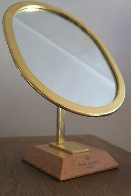 Patek Philippe Oval Mirror With Gold Plated Mount A 1960S Rare Vintage Stunner
