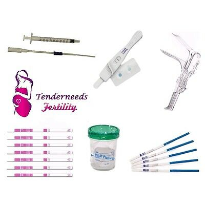 Home Artificial Insemination Kit Human IUI with Male/Female Fertility Tests HCG