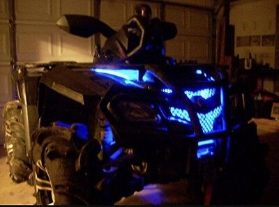 Blue LED 4 Wheeler ATV Underglow 12v Custom LED Neon Accent Lighting 1' Quad UTV