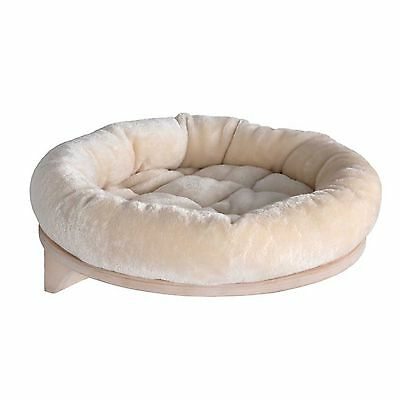 Cat Bed Wall Mounted Snuggle Sleeping Small Dogs Pet Soft Cushion Padded Wood
