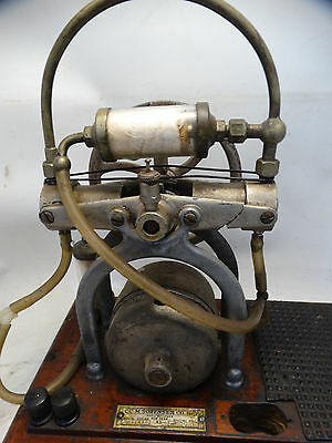 Antique C.M. Sorensen Embalming Fluid Pump Original Used Condition