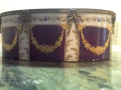 Sevres antique burgundy,bronze, Coalport Founded 1796 by John Rose raised gold