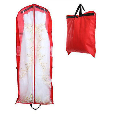 180cm Foldable Wedding Dress Garment Gown Storage Bag Dustproof Cover Bag