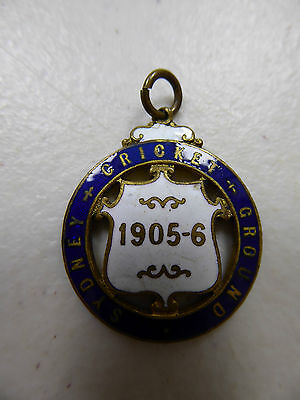 Sydney Cricket Ground Badge 1905-6