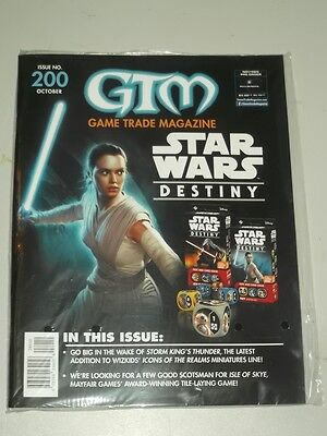 Game Trade Magazine Gtm #200 Us Magazine Star Wars Destiny Storm King Thunder