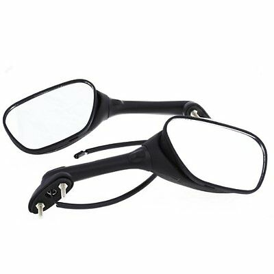 2x Motorcycle Rear Mirror with Indicator for Suzuki GSXR 600 2006-2010 S2T8