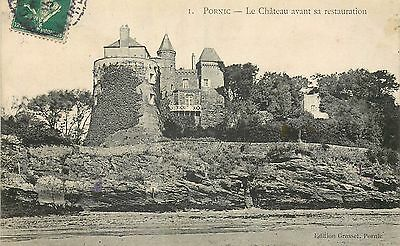 44 Pornic Chateau Avant Restauration