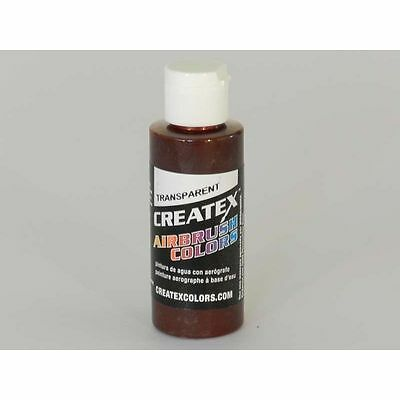 (11,47€/100ml) Rostrot Createx Airbrush Colors Farbe 60ml 11 5136 Createx Oxidro