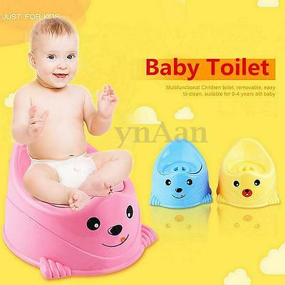 Plastic Baby Kids Children Toilet Seat Chair Potty Training With Removable Lid