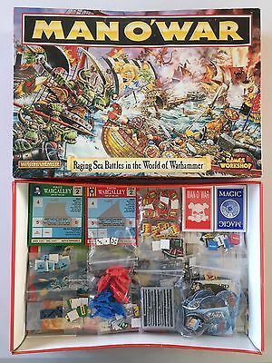Games Workshop Warhammer Fantasy Man O'war Main Boxed Game From 1992