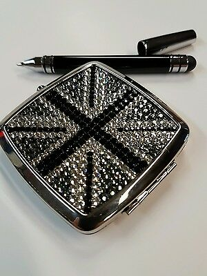 Compact Mirror and Pen by ICE with Swarovski detail. 29.99 rrp.
