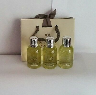 Molton Brown Dewy Lily Of The Valley & Star Anise Mini Gift Set 3 X50ml