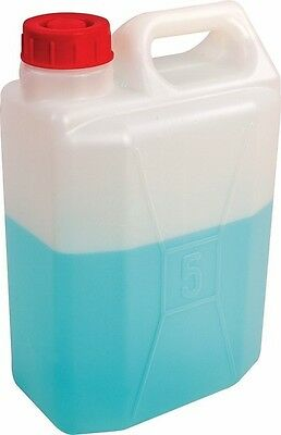 Strong 5 Litre Rectangle Water Carrier / Water Can / Water Storage Jerry Can