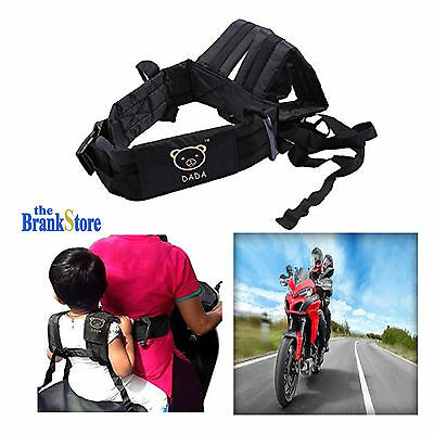Motorcycle Safety Harness Children Security Strap Kids Comfortable Seat Belt