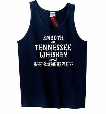 Smooth As Tennessee Whiskey Mens Tank Top Funny Country Alcohol Party Tank Z3