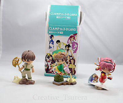 CLAMP in 3-D 3D Land Suzuhara Misaki Figure US Seller Official Angelic Layer