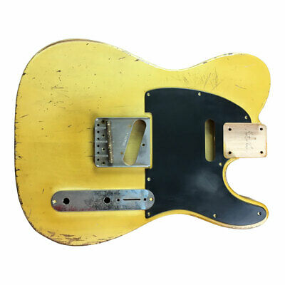 BODY guitar CUSTOM ORDER Fender Telecaster style RELIC aged nitro heavy light