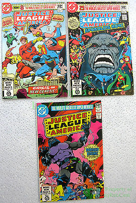 Justice League America #183 184 185 1st & Complete DARKSEID Story George Perez!