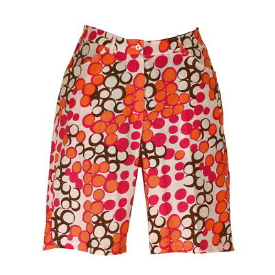BNWT, Women's Golf Shorts in Colourful Print, FREE SHIPPING!