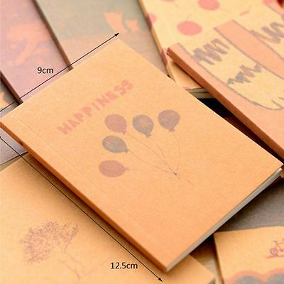 Stationery Office Sketchbook Diary Drawing Painting Paper Note Book Notebook