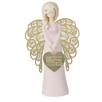**NEW** YOU ARE AN ANGEL 155mm LITTLEST THINGS BABY GIRL ..FIGURINE Gift Boxed!