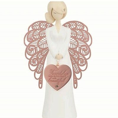 **NEW** YOU ARE AN ANGEL 155mm Beautiful Friendship ..FIGURINE Gift Boxed!