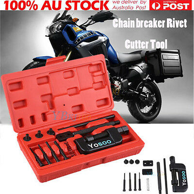2017 Latest Chain breaker Rivet Cutter Tool Kit Bike / Motorcycle / Cam Drive DH