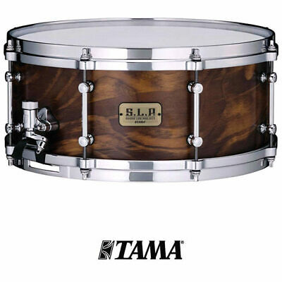 Tama SLP Fat Spruce 14 x 6 Spruce Shell Snare Drum Die-Cast Hoops LSP146