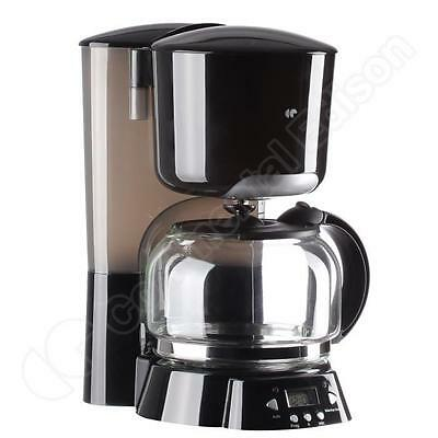 Cafetiere Programmable Noire - Continental Edison Cecf1