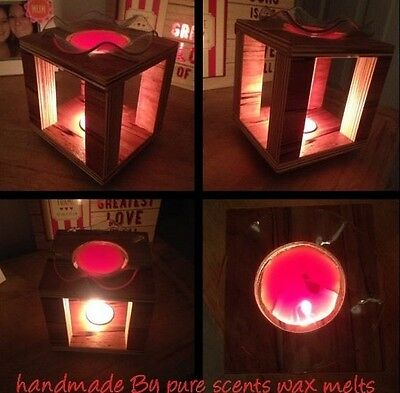 Oil Burner  Wax Tart Warmer Highly Quality Handmade By Pure Scents Wax Melts