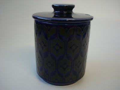Hornsea Heirloom Blue Lidded Jam / Preserve Pot