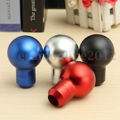 Universal Car Aluminum MT Manual Gear Shift Knob Shifter Lever Stick Round Ball