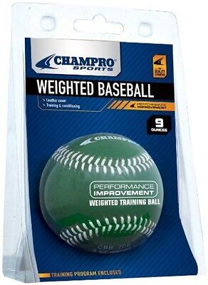 Champro Weighted Baseball Cover, Package (Green, 266ml)