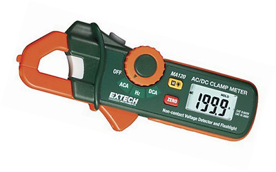 Extech Instruments MA120 Mini 200 Amp AC/DC Clamp-on Current Detector