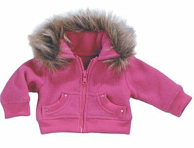 18 Inch Doll Jacket fits American Girl Dolls-Doll Clothes/Clothing- Fur