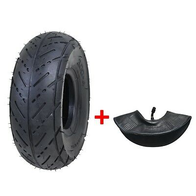 Mini Pocket ATV Tire Tyre + Tube 3.00-4 Inch Tire 9x3.5-4 Quad Mobility Scooter