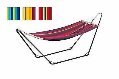 Garden Patio Camping Hammock Swing Outdoor Hang Bed Spreader Bar (Without) Stand