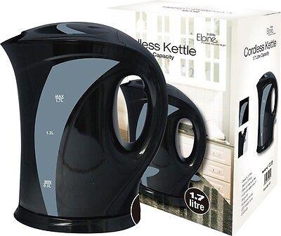 1.7L Cordless Kettle Fast Boil Water Tea Electric Jug Washable Filter Kitchen