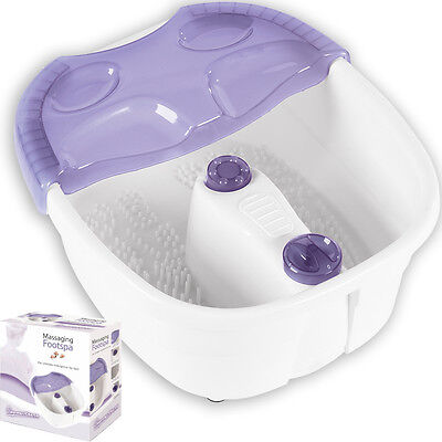 Signature Massage Vibration Foot Spa Bath Therapy Water Heat Relax Pedicure Feet