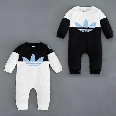 Toddler Baby Kids Boys Girls Infant Romper Jumpsuit Bodysuit Cotton Outfit Sets