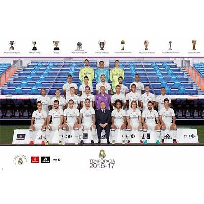 Real Madrid F.C. Poster Squad 38 Official Merchandise