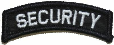 Security - Military/Morale Tab Patch Hook Backing