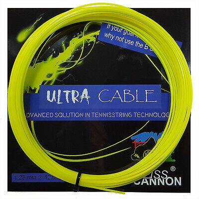 (0,74€ / lfd. Meter) Weiss Cannon Ultra Cable, 12m Set Co-Polyestersaite