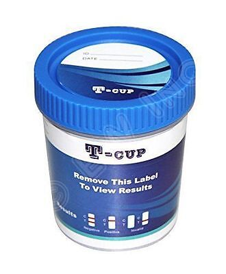 10 Pack 12 Panel Drug Test Cups CLIA WAIVED - Test for 12 Drugs - Free Shipping!