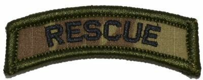 Latest Collection Of Us Search And Rescue Tab Uniform Patch Badge With Velcro ® Multicam Collectibles Other Militaria