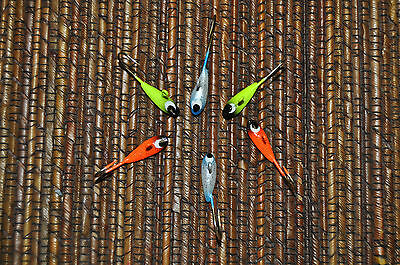 tear drop lure six pack for crappie perch panfish & ice fishing