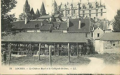 37 Loches Chateau Royal Et Collegiale St-Ours Ll