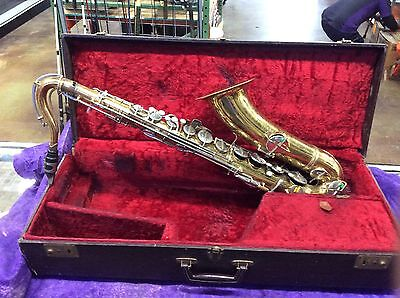1920s CG Conn Elkhart USA Tenor Saxophone FOR REPAIR Serial 134*** T L