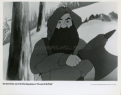 J. R. R. Tolkien's The Lord Of The Rings 1978 Vintage Photo Original #2